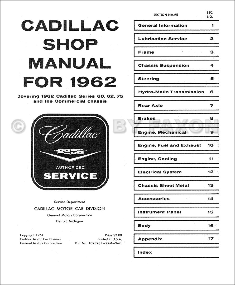 1962 Cadillac Wiring Diagram : 28 Wiring Diagram Images