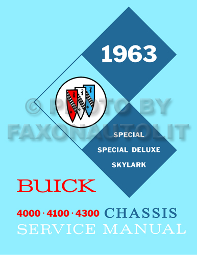 1963 Buick Skylark And Special Wiring Diagram In Part 1 Of Principles