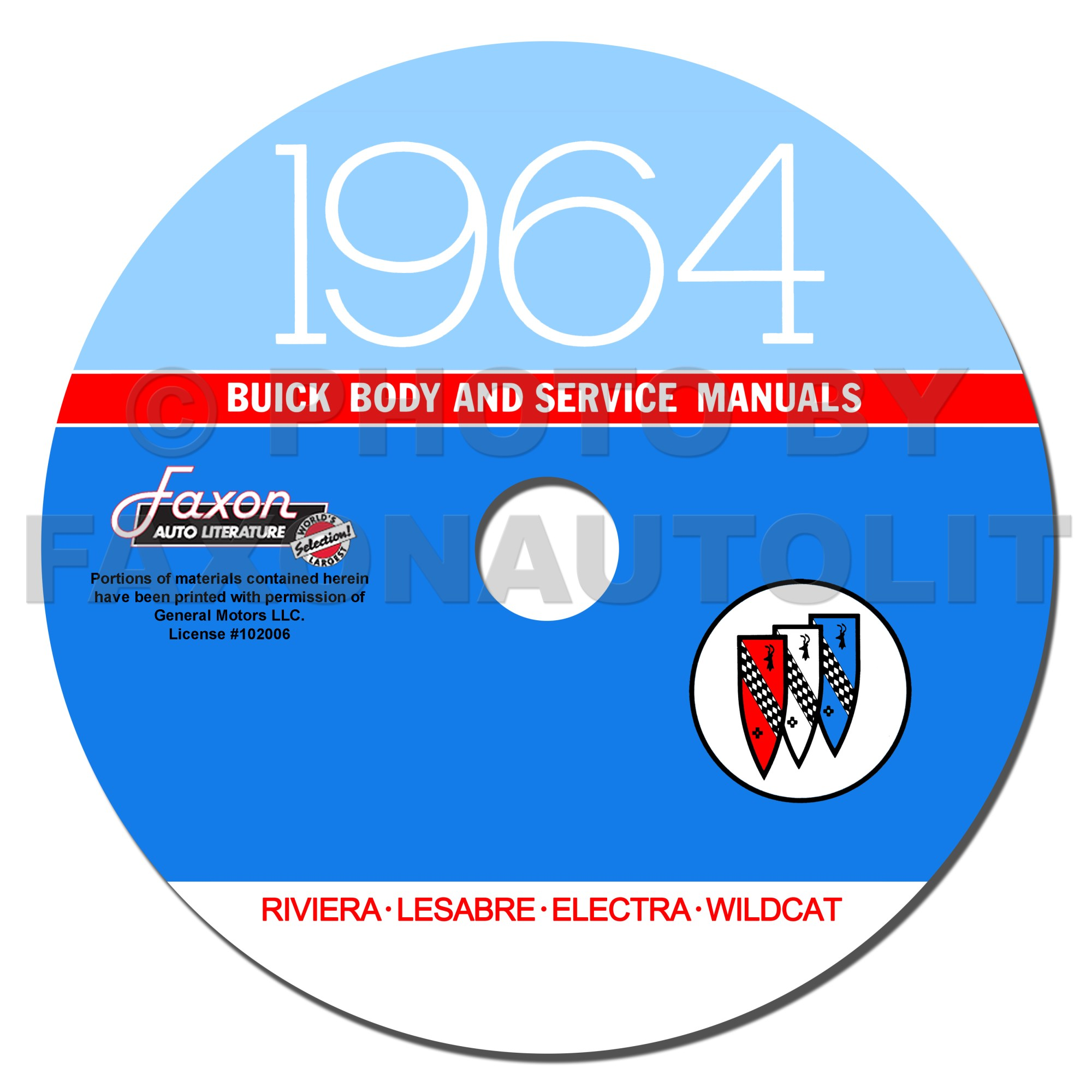 hight resolution of 1964 buick cd rom shop manual amp body manual