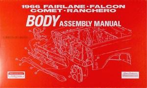 1966 Electrical Assembly Manual  FairlaneFalconRancheroCometCalienteCyclone