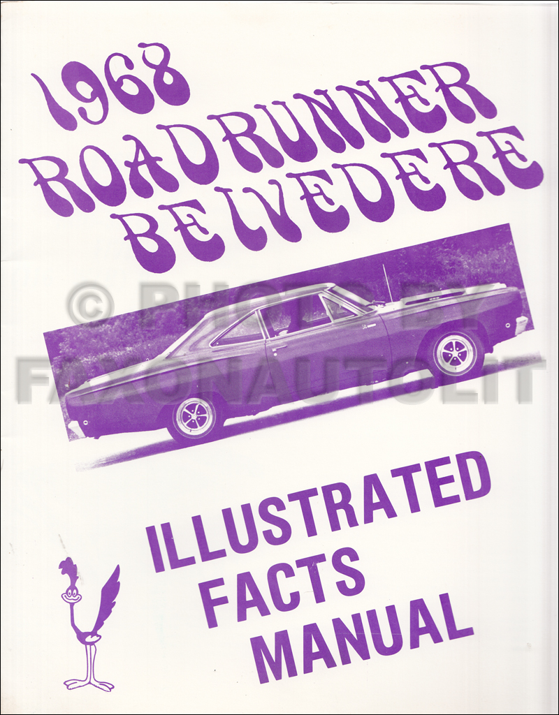 hight resolution of 1968 belvedere satellite road runner and gtx wiring diagram manual 1968 plymouth ilrated