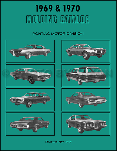 grand prix parts diagram why we use sequence 1969 1970 pontiac body molding and clips catalog reprint
