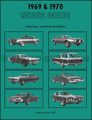 1969 Tempest, LeMans, & GTO Wiring Diagram Manual Reprint