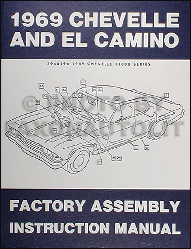 1969 chevelle wiring diagram eukaryotic plant cell structure engine data assembly manual reprint el camino malibu super sport ss factory colors