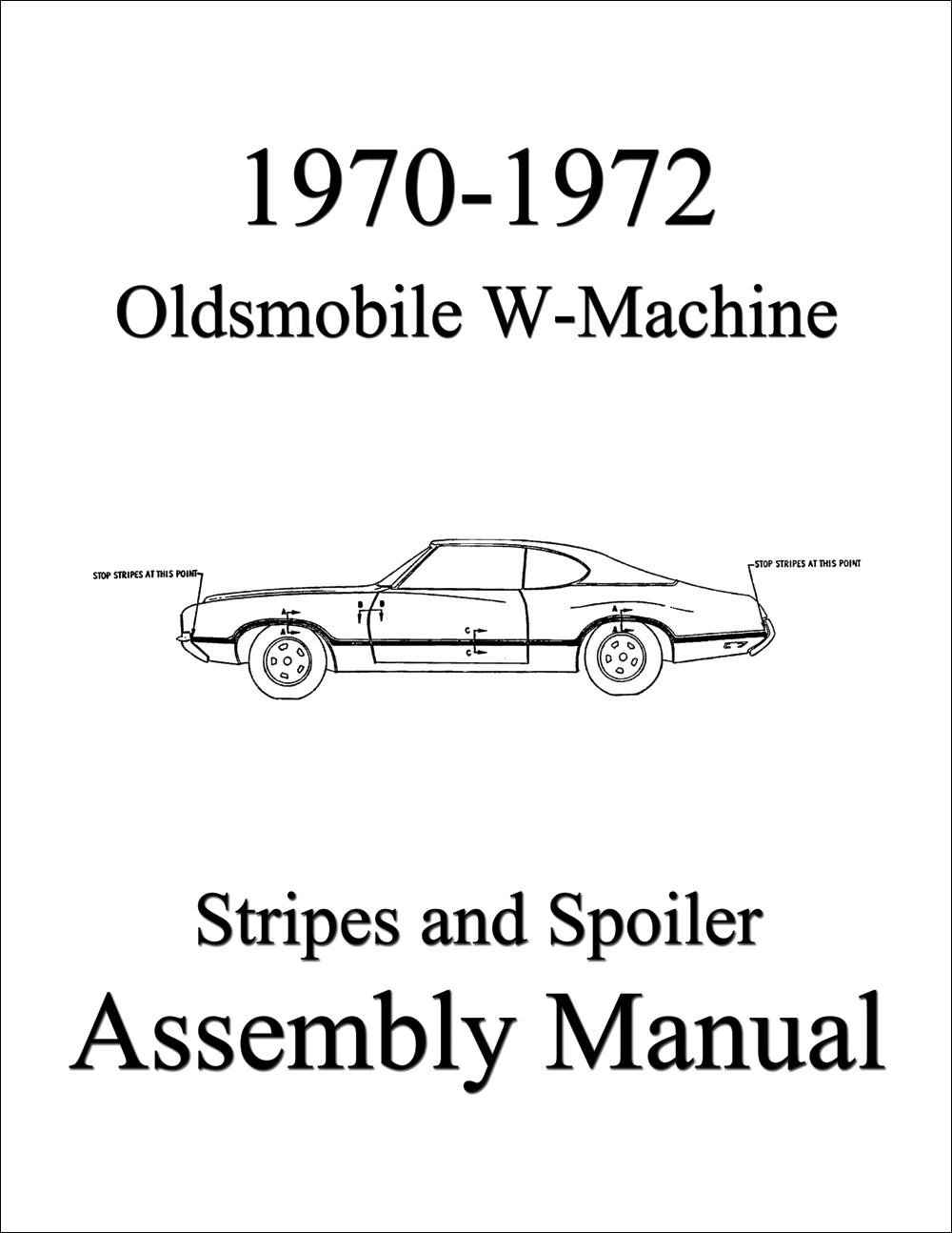 1970 Oldsmobile Repair Shop Manual Original 442/Cutlass/88