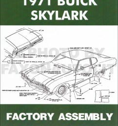 1971 buick assembly manual reprint skylark gran sport gs sportwagon 1969 buick gs 1971 buick gs wiring diagram [ 1000 x 1296 Pixel ]