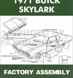 1971 buick assembly manual reprint skylark gran sport gs sportwagon 1968 buick skylark 4 door 71 [ 1000 x 1296 Pixel ]