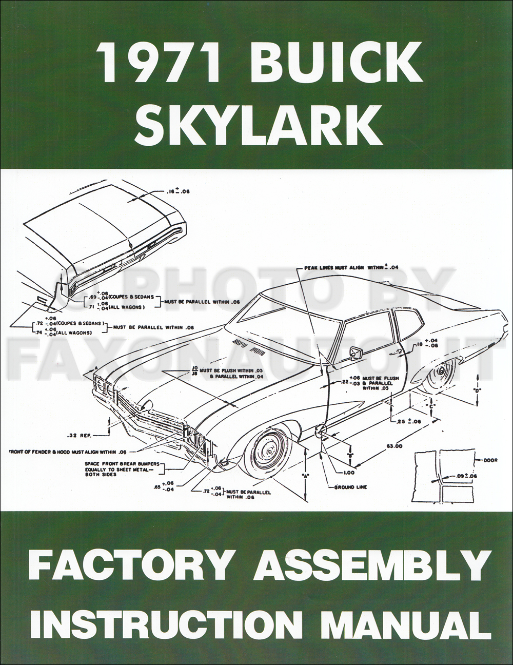 medium resolution of 1971 buick assembly manual reprint skylark gran sport gs sportwagon 1969 buick gs 1971 buick gs wiring diagram