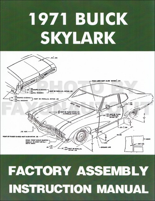 small resolution of 1971 buick assembly manual reprint skylark gran sport gs sportwagon 1969 buick gs 1971 buick gs wiring diagram