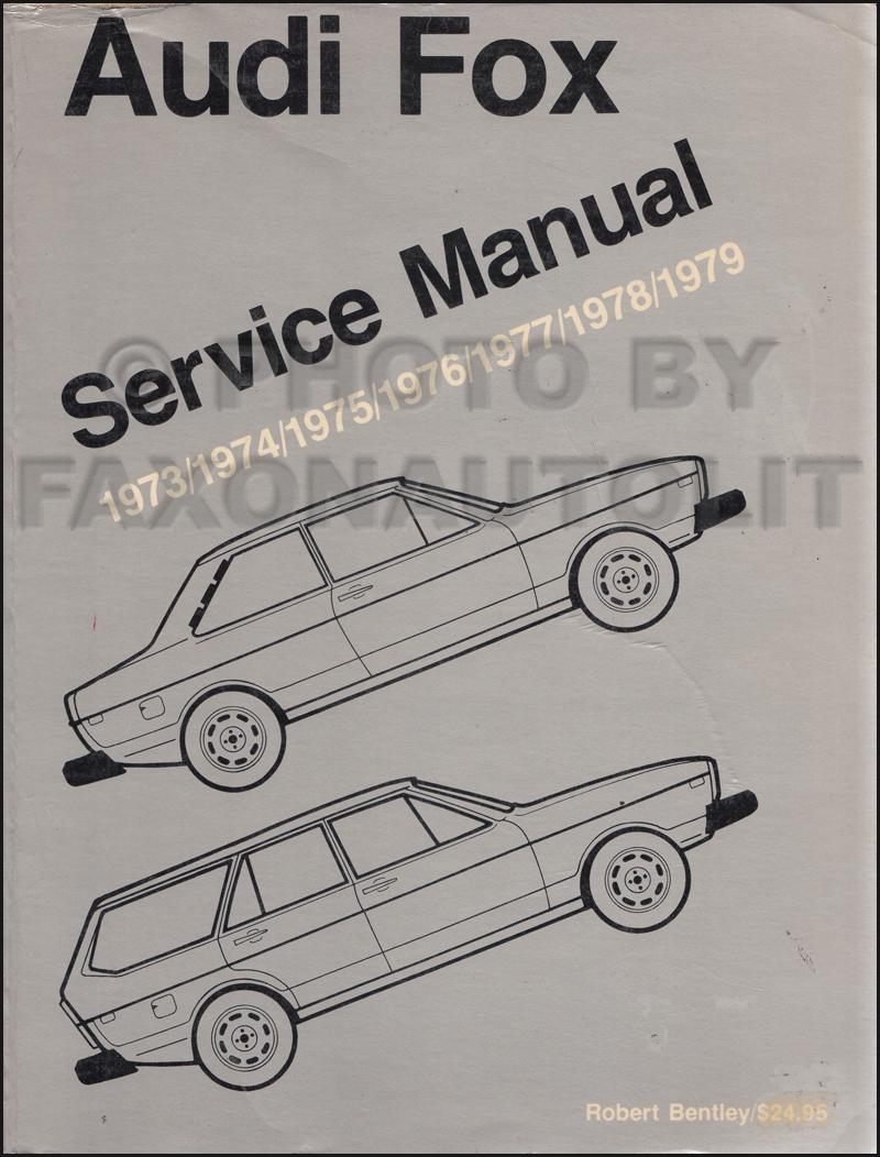 medium resolution of 1973 1979 audi fox bentley repair manual