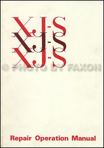 19951996 Jaguar Xjs V12 Electrical Guide Wiring Diagram Original