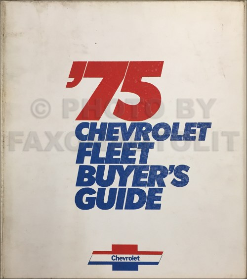 small resolution of  1975chevroletfleetbuyersguide 1976 chevy gmc p10 p20 p30 wiring diagram stepvan motorhome p15 plymouth p15 wiring diagram