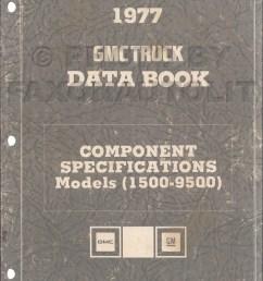 1977 gmc component specifications data book original revised 1959 gmc step van engine 1977 gmc vandura wiring diagram g35 [ 1000 x 1303 Pixel ]
