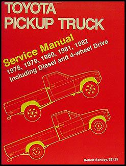 1956 Bentley Wiring Diagram 1978 1982 Toyota Pickup Truck Bentley Repair Shop Manual