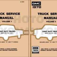 1982 Chevrolet Truck Wiring Diagram 1998 Jeep Grand Cherokee 1985 G30 Chassis
