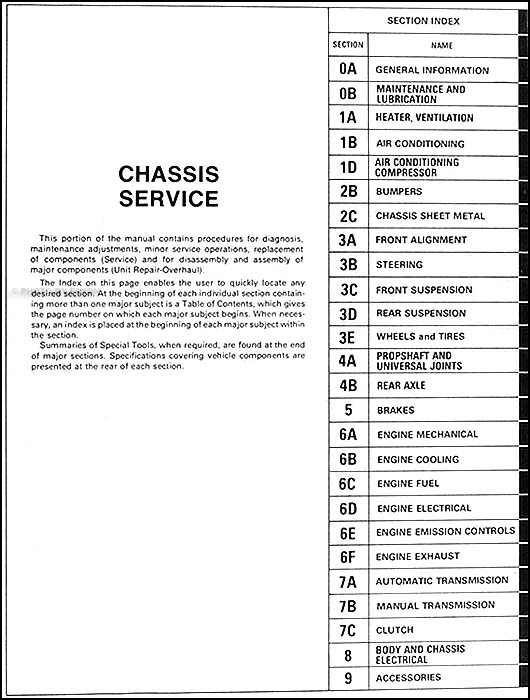 1979 Chevy Chevette Repair Shop Manual Original