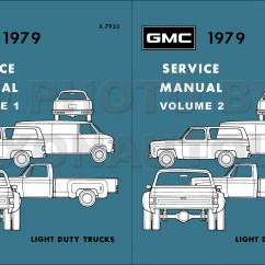 1979 Chevy Truck Wiring Diagram Vw Golf Mk5 Gmc Ck Original Pickup Suburban