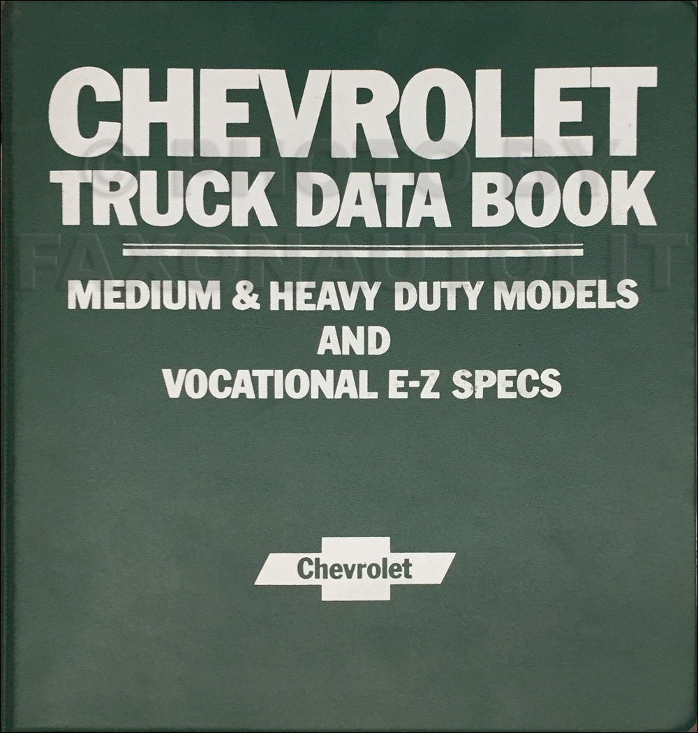 1980 Gm Truck Wiring Diagrams For Medium And Heavy Duty Models