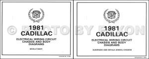 1981 Cadillac Repair Shop Manual and Body Manual on CDROM