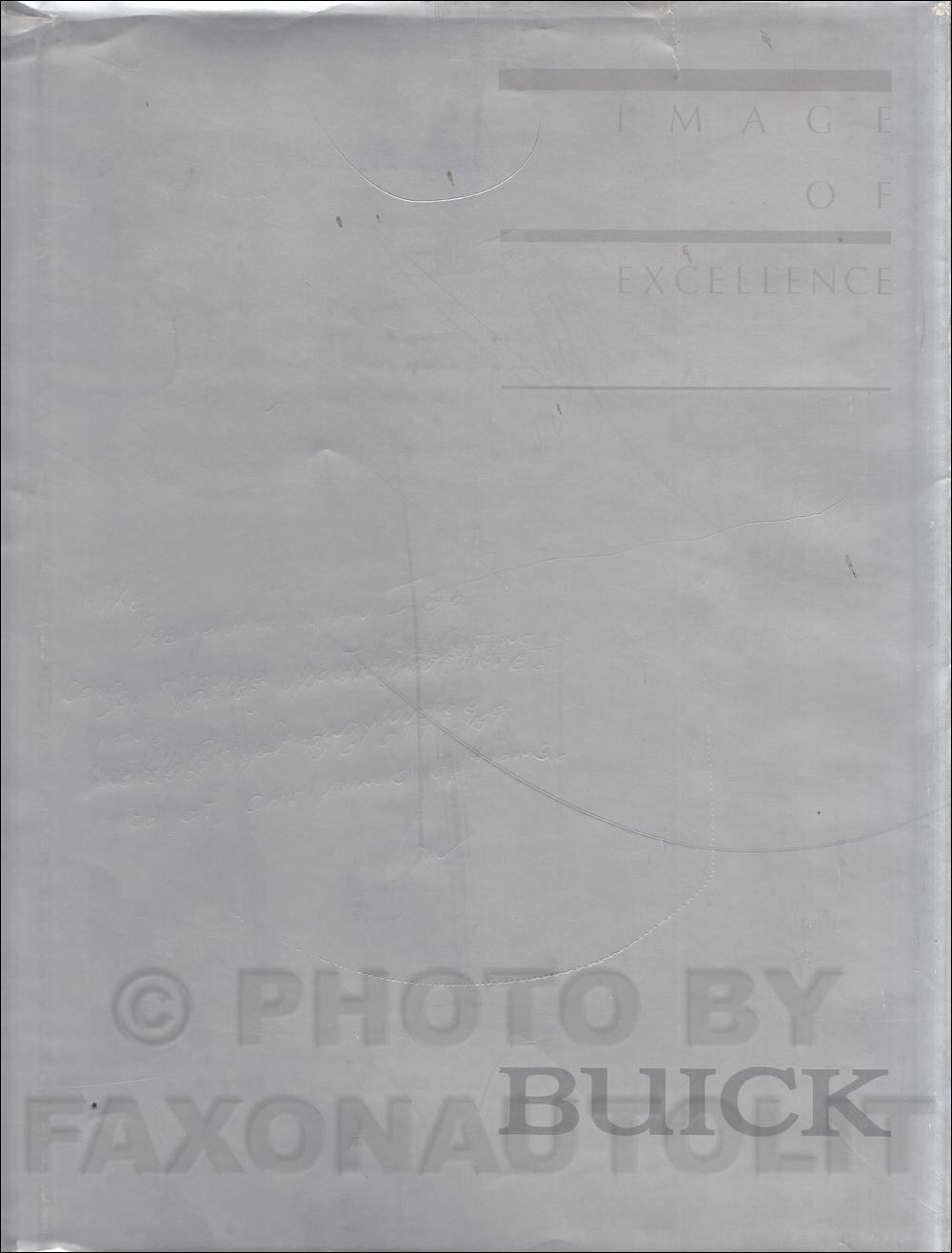 1984 Buick & Grand National Body Repair Shop Manual Original