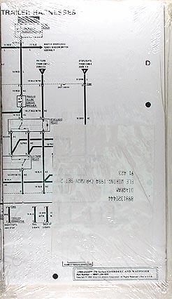 1984 Jeep Cherokee & Wagoneer Original Wiring Diagram
