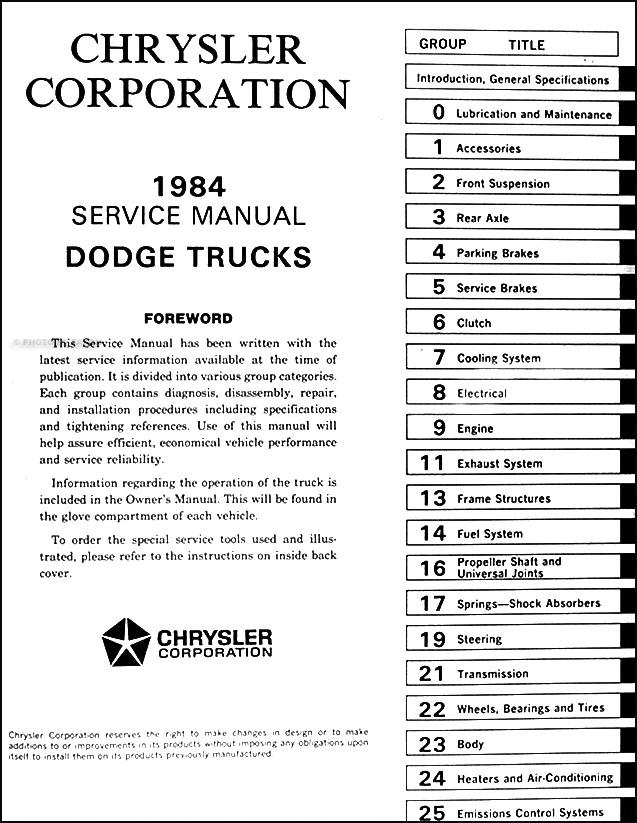 1984DodgeRamChargerORM TOC?resize\=637%2C823 1985 dodge ram charger fuse box diagram wiring diagrams 1985 dodge ram fuse box location at honlapkeszites.co