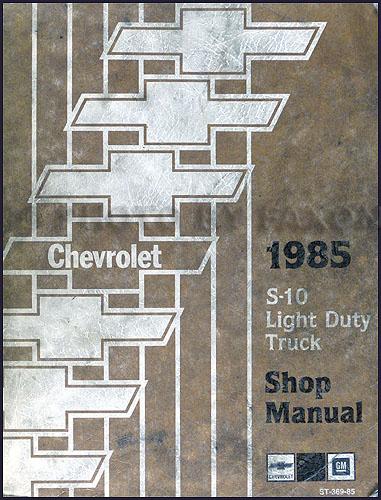 1990 Gmc S15 Pickup Jimmy Wiring Diagram Manual Original
