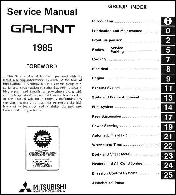 Wiring Diagram For A 2003 Mitsubishi Galant : Mitsubishi galant es mr radio wiring diagram