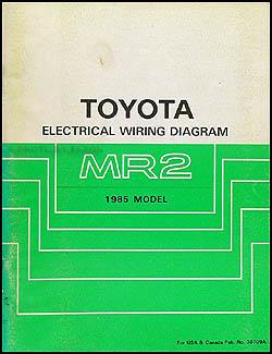 1986 toyota mr2 wiring diagram yamaha warrior atv 1985 manual original