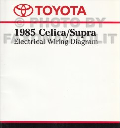 1985 toyota celica supra wiring diagram manual factory reprint [ 800 x 1045 Pixel ]