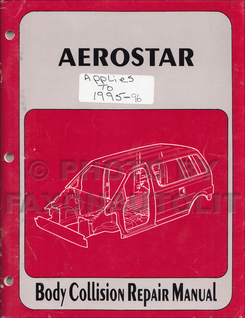 medium resolution of  ford aerostar fuse box diagram 2002 2006 toyota camry body collision repair manual original
