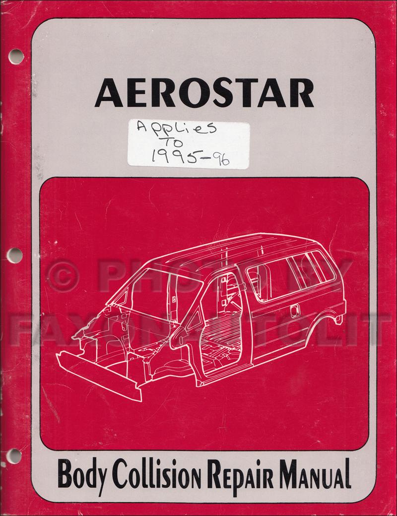 hight resolution of  ford aerostar fuse box diagram 2002 2006 toyota camry body collision repair manual original