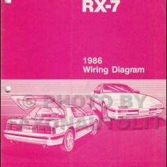 Mazda Wiring Diagram Color Codes For 2002 Ford Ranger Radio 1986 Rx-7 Manual Original Rx7
