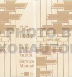 1987 chevy truck repair shop manual reprint pickup blazer suburban van fc set [ 1218 x 800 Pixel ]