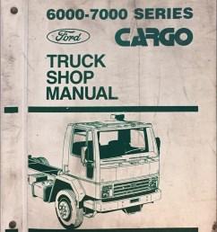 1986 ford cargo truck repair manual original 6000 7000 [ 1000 x 1118 Pixel ]