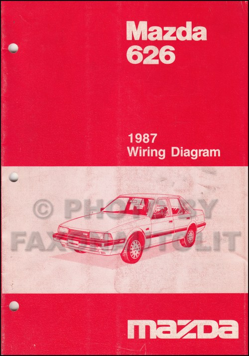 small resolution of 1987 mazda 626 wiring diagram manual original 2001 mazda 626 engine diagram wiring diagrams 1987 mazda 626