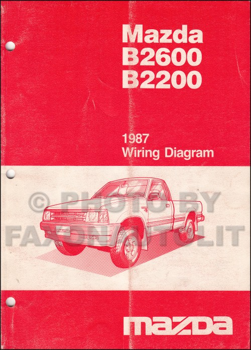 small resolution of 1987 mazda b2200 wiring diagram