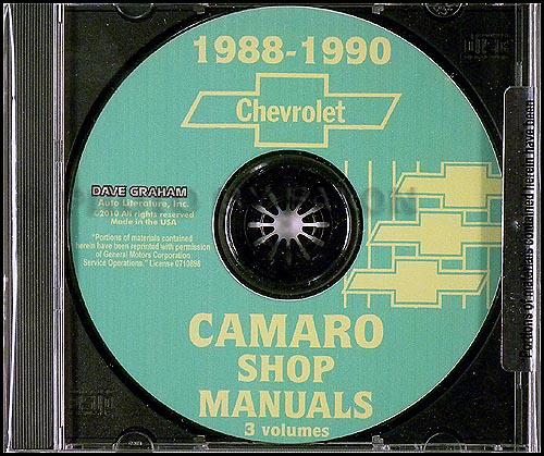 1990 Chevy Camaro Wiring Diagram Camaro Parts Literature Multimedia