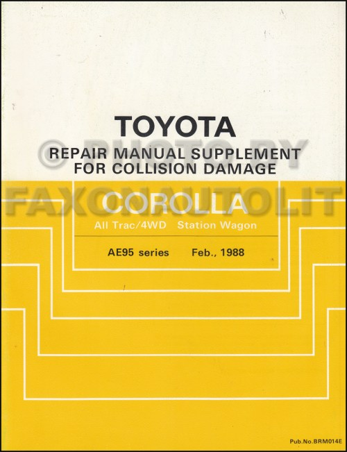 small resolution of 1988 1992 toyota corolla all trac 4wd body collision manual station wagon supplement