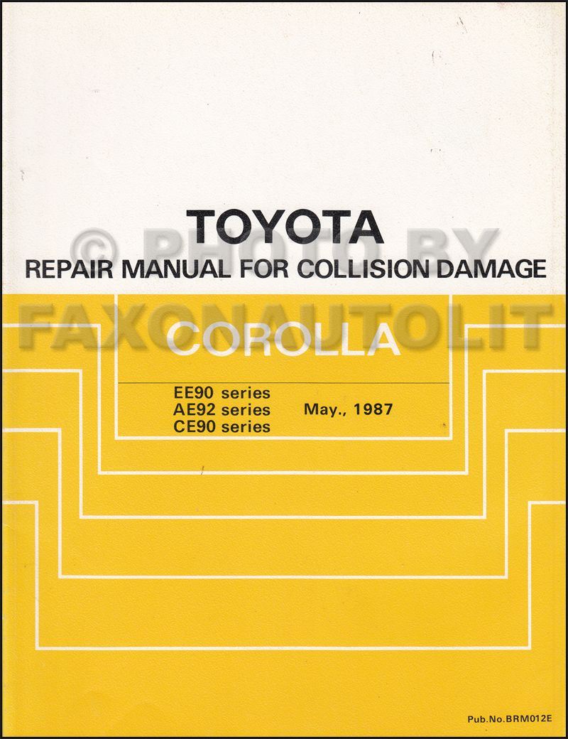 1989 Toyota Mr2 Wiring Diagram Manual Original