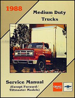 1988 Chevrolet and GMC Medium Duty C50 C60 C70 Wiring