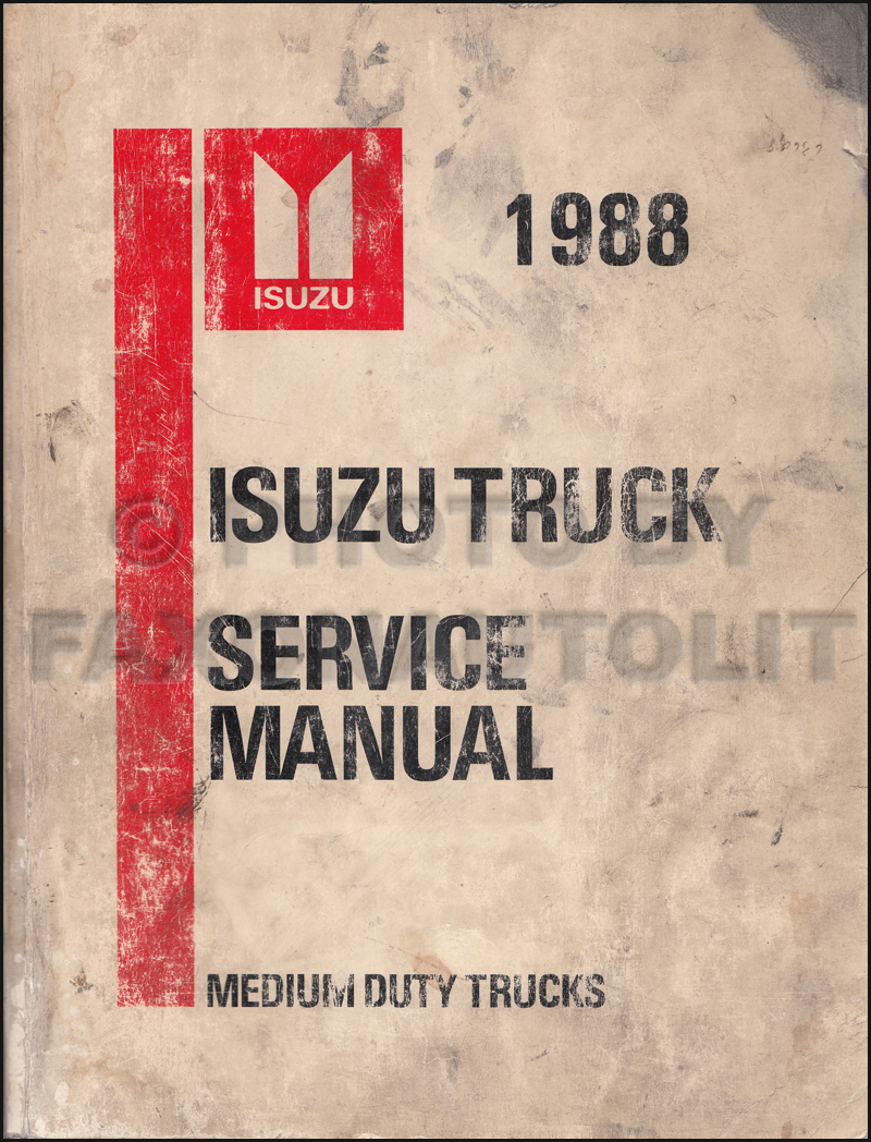 hight resolution of isuzu fvr truck wiring diagram 1988 isuzu tilt truck repair shop manual ftr fvr fsr