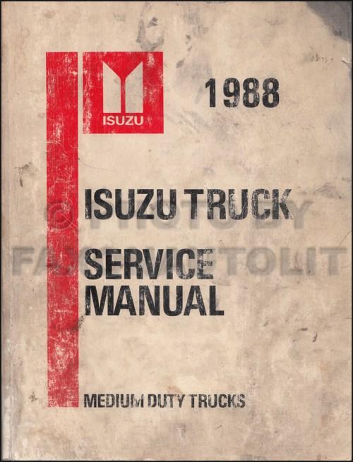 small resolution of 1988 isuzu tilt truck repair shop manual ftr fvr fsr nrr evr w5 w6 w7