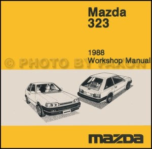 1988 Mazda 323 Hatchback and Sedan Wiring Diagram Manual