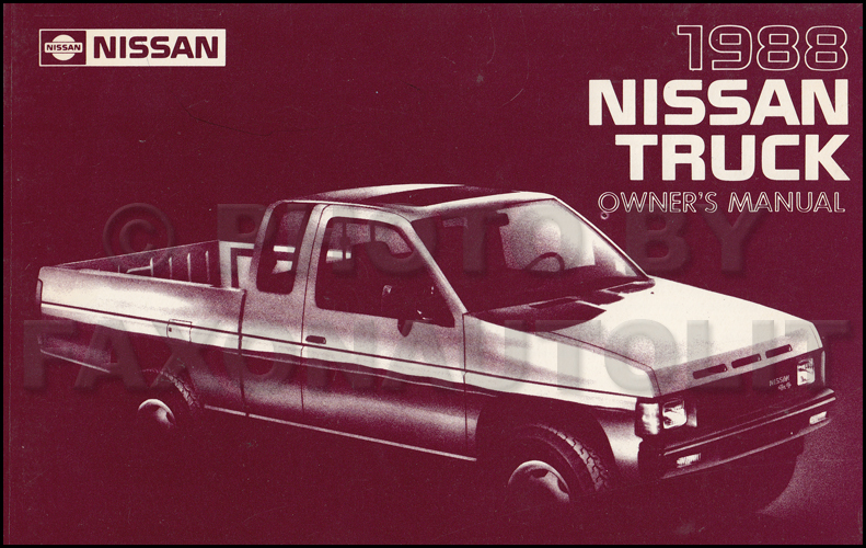 1991 Nissan Truck And Pathfinder Wiring Diagram Manual Original