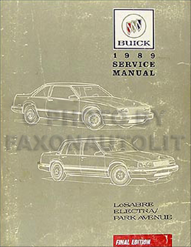 1991 Buick Lesabre Electrical Troubleshooting Manual Original