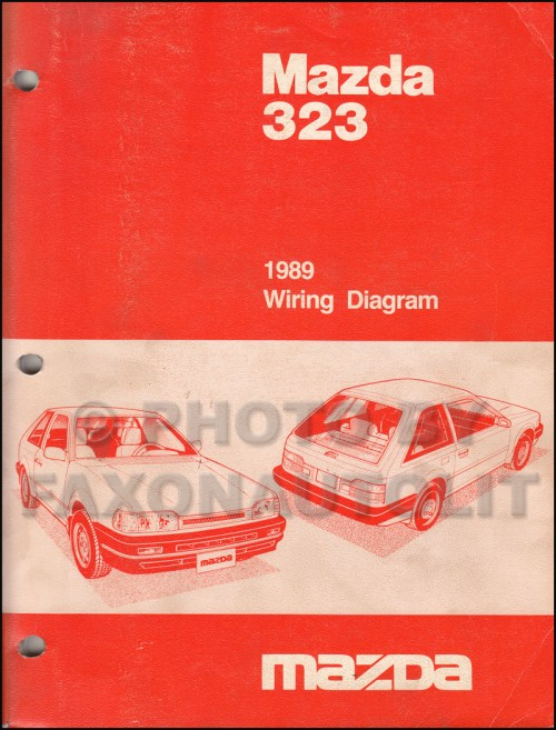 small resolution of 1989 mazda 323 wiring diagram manual original