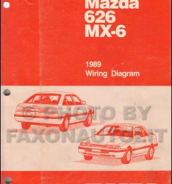 1989 mazda 626 and mx 6 wiring diagram manual original mazda mx6 wiring diagram mazda mx6 diagram [ 800 x 1047 Pixel ]