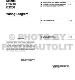 1989 mazda b2600i b2200 pickup truck wiring diagram manual 1989 mazda b2200 carburetor diagram mazda b2200 carburetor diagram [ 1000 x 1331 Pixel ]