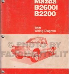 1989 mazda b2600i b2200 pickup truck wiring diagram manual originalb2600 mazda stereo wiring 10 [ 1000 x 1307 Pixel ]